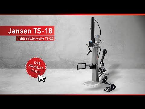 Holzspalter TS-18, mit Stammheber, Zapfwellenantrieb, 18 t