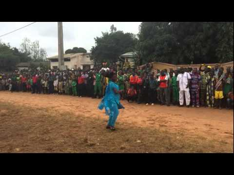 Girl Rocking Bollywood Dance In West Africa