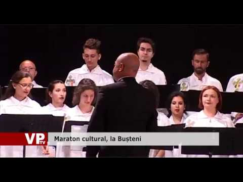 Maraton cultural, la Bușteni