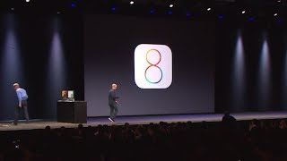 iOS 8 Introduction. Looks like what iOS 7 should've been. OG Apple video