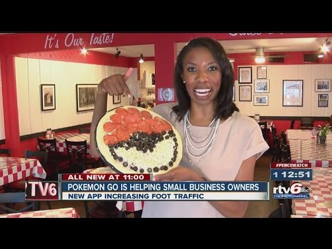 Pokemon Go helping small business owners