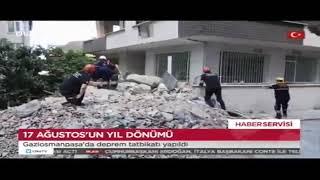 Gaziosmanpaşa'da Deprem Tatbikatı - Ülke Tv