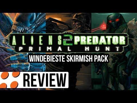 Aliens versus Predator 2, Primal Hunt, & Windebieste Skirmish Pack Video Review