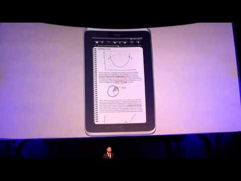MWC 2011 – tiskovka HTC – tablet HTC Flyer – část 2