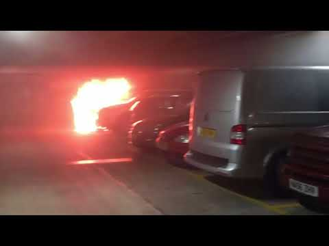 Car Park Fire At Liverpool's Echo Arena Destroys 1,400 Vehicles