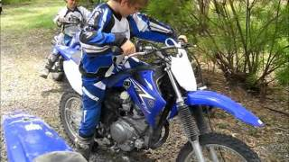 3. Yamaha TTR 230, 125 and PW 80 walk around
