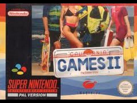 California Games II Super Nintendo