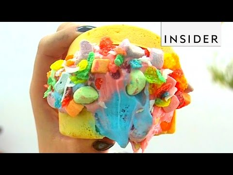 Ice Cream Burgers are a Thing