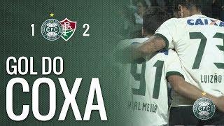 Na 14ª rodada do Campeonato Brasileiro, Coritiba balança as redes com Henrique Almeida, mas não consegue superar o Fluminense, que marcou dois gols