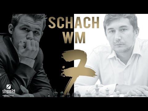 Schach WM 2016: Carlsen - Karjakin Partie 7 Schach WM 2 ...