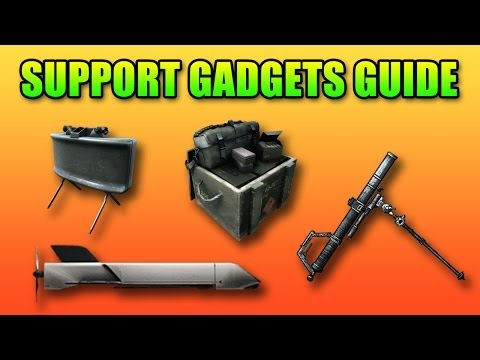 Support Gadgets Guide: MP-APS, UCAV, Mortar, Claymore, XM25 (Battlefield 4 Gameplay/Commentary)