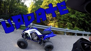 6. Raptor 700r Update - 15t Front Sprocket | Disabled rev Limiter [82mph]