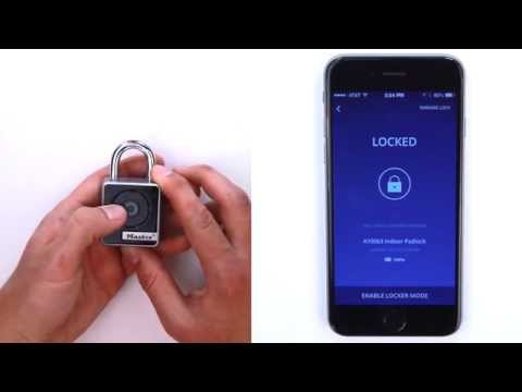 Screen capture of Master Lock 4400D & 4401DLH - Unlock Your Lock In Touch Mode
