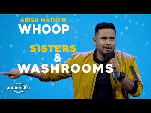 Sisters & Washrooms | Abish Mathew Stand Up Comedy | WHOOP