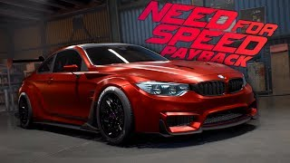 Need for Speed Payback BMW M4 Customization Gameplay