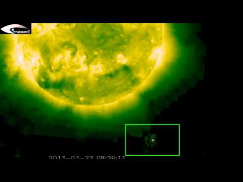 Anomalies, Holograms, UFOs, OVNI on images © NASA SOHO STEREO, LASCO C2, LASCO C3 – March 22, 2013