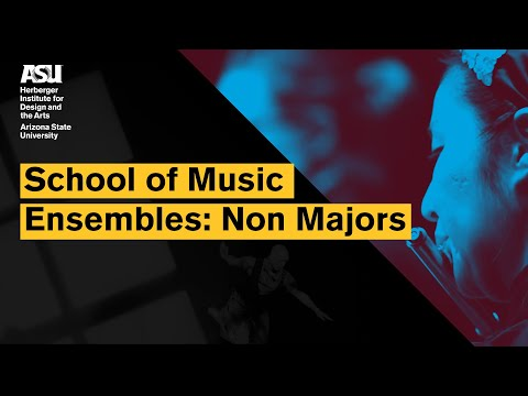 School Of Music Ensembles - Non Majors