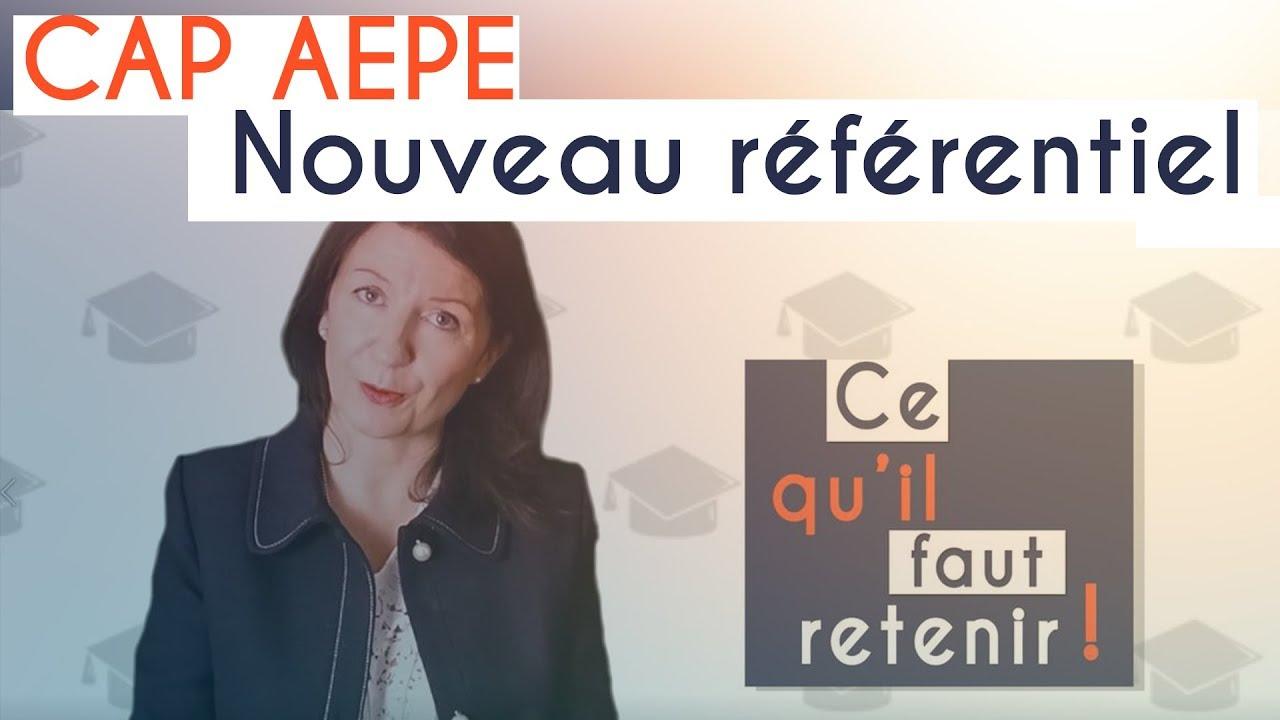 CAP AEPE, voici le nouveau référentiel !