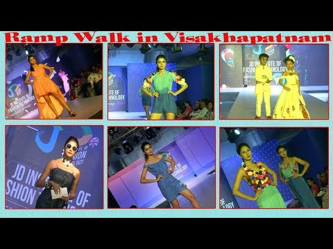 JD Institute Of Fashion Technology Designs Ramp walk in Visakhapatnam,Vizag Vision..
