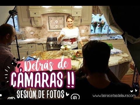 Peso ideal - Detrás de cámaras de EL RECETARIO -Behind the scenes of EL RECETARIO