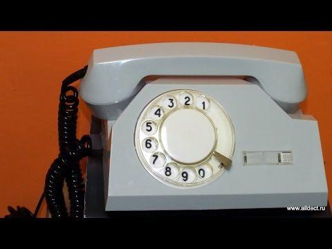 Видео обзор телефона с дисковым номеронабирателем  VEF TA 72 M (ВЭФ ТА 72М) (видео)