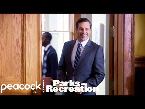 John Hamm (Ed) Sucks at His Job - Parks and Recreation