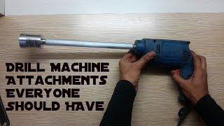 Video Drill Machine Attachments You Gotta Have. MP3, 3GP, MP4, WEBM, AVI, FLV November 2017