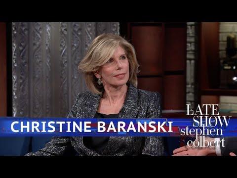 Christine Baranski Takes 'The Good Fight' To Broadway (видео)