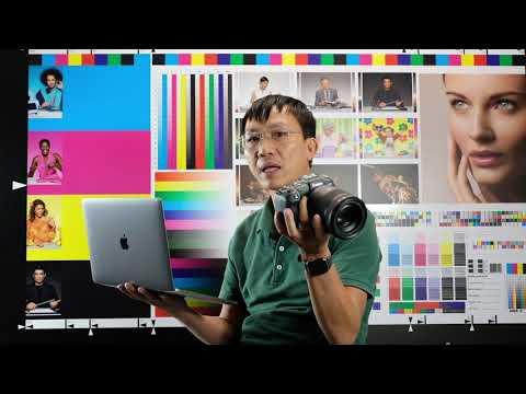 Truyền ảnh tự động từ Canon EOS RP sang máy tính - Thời lượng: 3 phút, 6 giây.