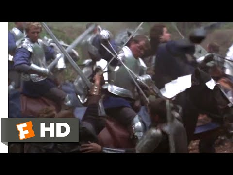 First Knight (1995) - The Carriage Battle Scene (1/10)   Movieclips