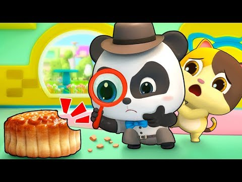 Who Stole Baby Panda's Moon Cakes | Baby Panda's Magic Tie | Magical Chinese Characters | BabyBus (видео)
