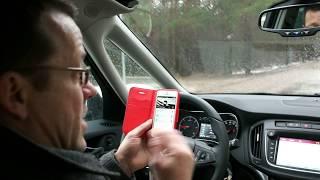 """""""AutoMedia.lv"""" tests: ar jauno """"Opel Zafira"""" atklājam OnStar atbalsta sistēmas priekšrocības"""