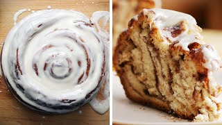 Giant Cinnamon Roll by Tasty