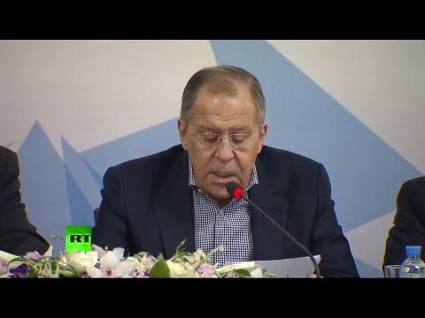 Лавров выступает на заседании Ассамблеи СВОП - DomaVideo.Ru