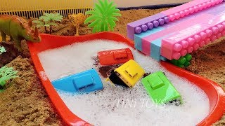 Oh Noooo... Tayo, Rogi, Lani, Gani, Cito Buried In The Sand - Tayo the Little Bus Toys Play