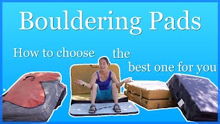 Bouldering Pad - How to Choose a Bouldering Mat by The Climbing Nomads