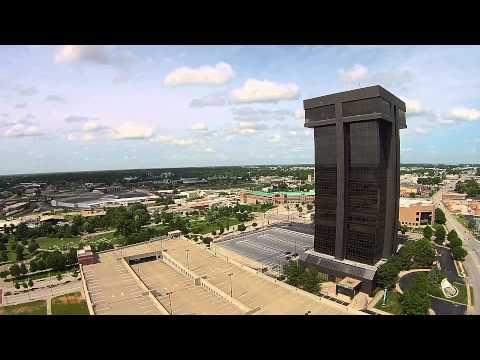 Springfield Missouri Downtown unedited footage