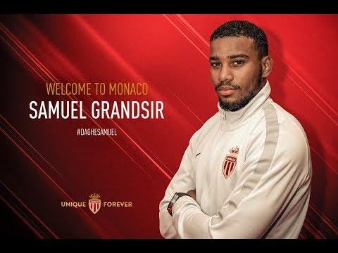Samuel Grandsir à l'AS Monaco - AS MONACO