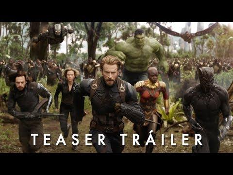 Vengadores: Infinity War - Teaser Tráiler Oficial en español?>