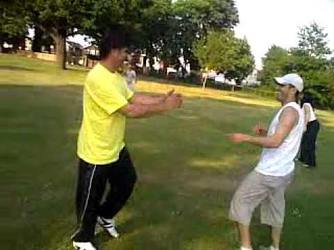 free style sparring  Goju ryu karate