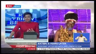 Turkana Governor Josphat Nanok On Friday Briefing