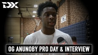 OG Anunoby Octagon Pro Day Workout Video and Interview