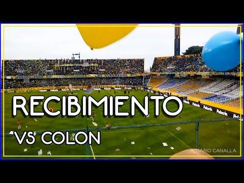 RECIBIMIENTO Rosario Central vs Colon 2017 - Fecha 27 - Los Guerreros - Rosario Central