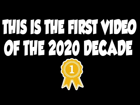 The FIRST Video Posted in 2020