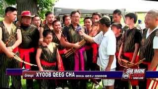 Suab Hmong E-News: Khene (Qeej) Dancer Group XYOOB QEEG CHA at 2014 Hmong Freedom Celebration