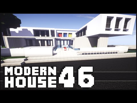 Modern - Minecraft - Modern House 46 The Minecraft Inspiration Series! Give it a LIKE if you did enjoy. Don't forget to subscribe ▻ http://goo.gl/yCQnEn Shaders for 1.7.2 Tutorial - http://goo.gl/qSgFVJ...