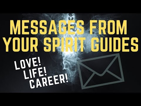 Love messages - Messages from Your Spirit Guides! Love, Life  & Career. Pick A Card