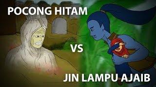 Video Pocong Hitam VS Jin Lampu Ajaib (Kartun Horor) MP3, 3GP, MP4, WEBM, AVI, FLV Agustus 2018