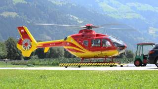 Kaltenbach Austria  city photos : Eurocopter Ec-135 SHS Helicopters, Kaltenbach, Austria