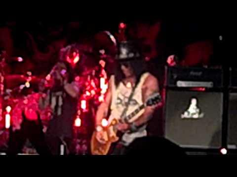 "SLASH ""Godfather Theme"" Live 7/12/12 Portland,OR."